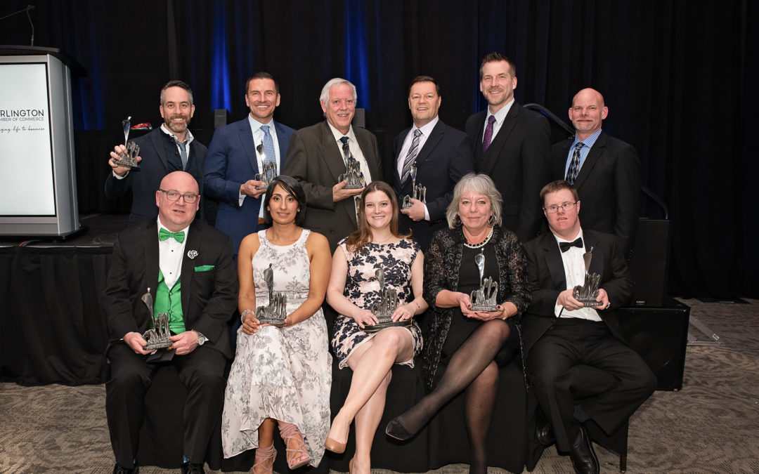 Burlington Chamber of Commerce Announces Winners of the Business Excellence Awards