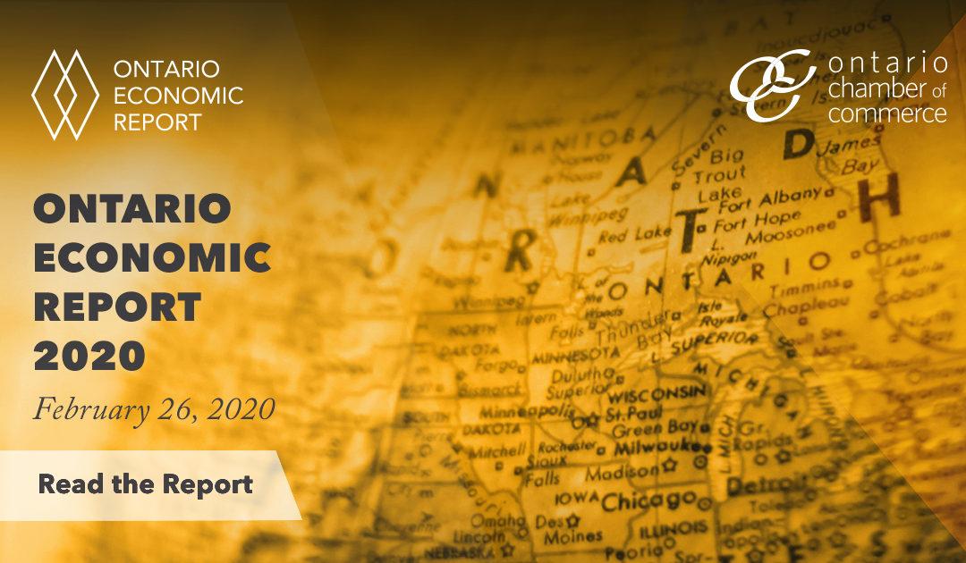 2020 Ontario Economic Report