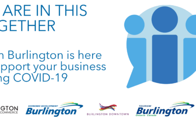 Burlington's Business Support Organizations Come Together as Team Burlington to Support Businesses Through COVID-19