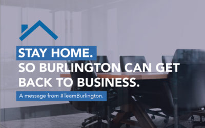 Team Burlington Launches the #STAYHOME Campaign