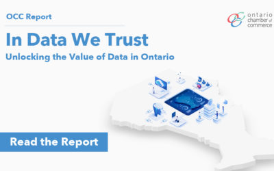 Data Innovation Critical to Ontario's Economic and Social Well-Being